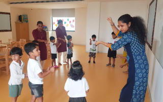 Fun First Week at TRINS ELC - Best Play schools in Trivandrum