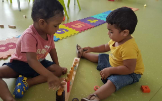 Developing Friendship Skills  at TRINS ELC - Best Play schools in Trivandrum