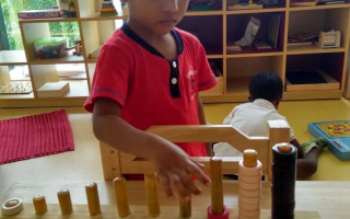 Kids Playing Games at TRINS ELC - Best Play schools in Trivandrum