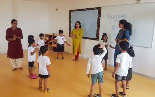 Kids Games And Activities at TRINS ELC -  Best Preschools in Trivandrum