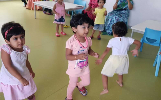 Fun Dance Games at TRINS ELC - Preschools in Trivandrum