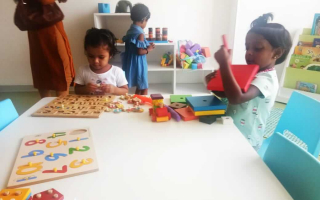 Creative Development at TRINS ELC - Best Play schools in Trivandrum