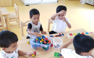 Developing Child Creativity at TRINS ELC - Best Play schools in Trivandrum
