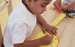 Painting ideas For Kids at TRINS ELC - Preschools in Trivandrum