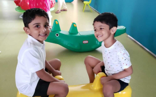 Kids Friendship at TRINS ELC - Playschools in Trivandrum