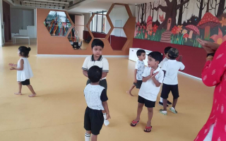 Fun Zone  at TRINS ELC - Best Preschools in Trivandrum